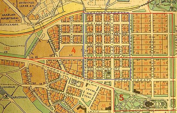 Koskesta Voimaa Kaupunki Aikakausi 1918 1940 Kaupunginosat