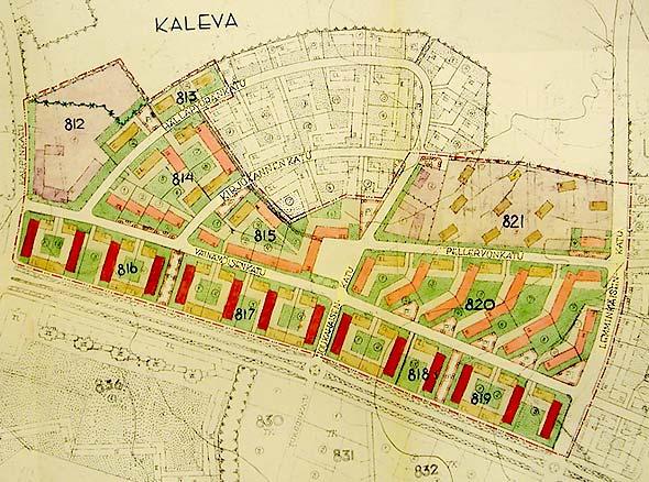 Koskesta Voimaa Kaupunki Aikakausi 1940 1960 Kalevan