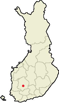 Location of Tampere